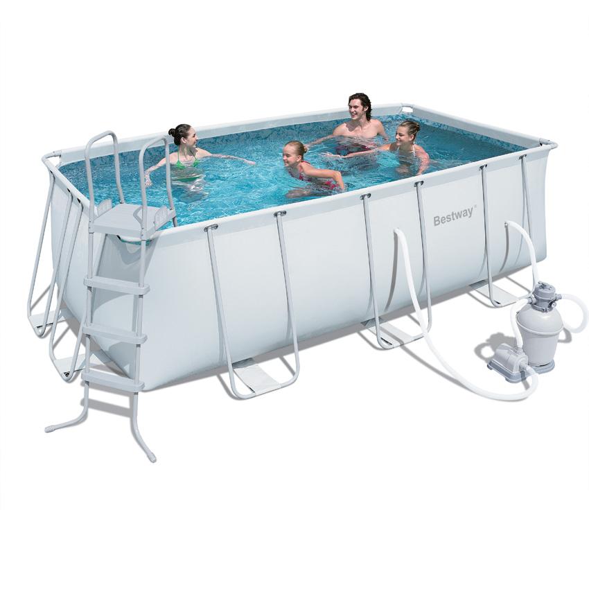 piscine tubulaire fragile
